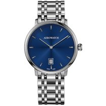 Aerowatch Steel 40mm Automatic 67975-AA03-M new
