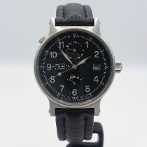 Mühle Glashütte pre-owned Automatic 37mm Black Sapphire crystal 5 ATM