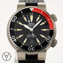 Oris Titanium Automatic Black 44mm pre-owned Divers