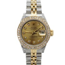 Rolex Lady-Datejust Gold/Steel 26mm Champagne No numerals United States of America, California, Sylmar