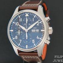IWC Pilot Chronograph nieuw 2020 Automatisch Chronograaf Horloge met originele doos en originele papieren IW377713