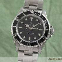 Rolex Submariner (No Date) Zeljezo 40mm Crn