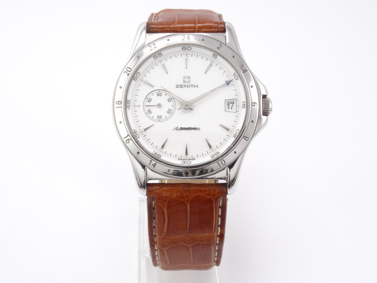 Zenith Elite Dual Time zenith 682 pre-owned