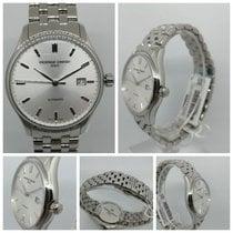 Frederique Constant Classics Index Steel 40mm White No numerals