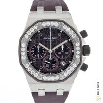 Audemars Piguet Royal Oak Offshore Lady Acier 37mm Violet