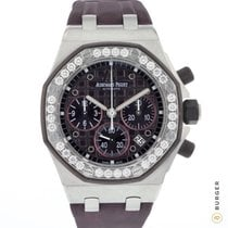 Audemars Piguet Royal Oak Offshore Lady Сталь 37mm Фиолетовый