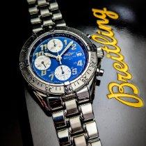 Breitling Colt Chronograph Automatic gebraucht 45mm Blau Chronograph Datum Stahl