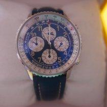 Breitling Navitimer 1461 Acier 41mm Bleu Arabes
