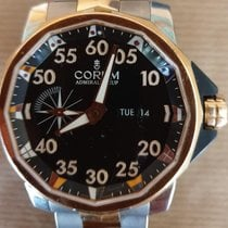 Corum Admiral's Cup Competition 48 Tytan 48mm Czarny Arabskie