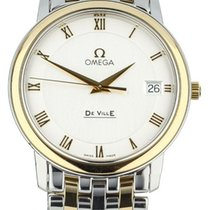 Omega Women's watch De Ville 34mm Quartz pre-owned Watch with original box and original papers