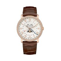 Blancpain Villeret Moonphase Rose gold 40mm Silver United States of America, New Jersey, Englewood