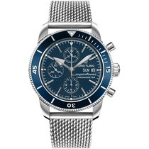 Breitling Superocean Héritage II Chronographe Steel 44mm Blue