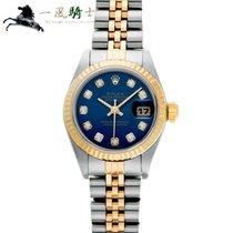 Rolex Lady-Datejust 79173G Bom Aço 26mm Automático