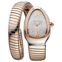 Bulgari Serpenti Gold/Steel 35mm