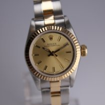 Rolex Oyster Perpetual Gold/Steel 26mm Gold