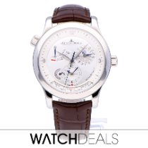 Jaeger-LeCoultre Master Geographic Acero Plata