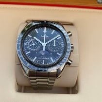 Omega Speedmaster Professional Moonwatch Moonphase Acero Negro Sin cifras