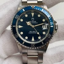 Tudor Submariner Steel 36mm Blue No numerals United States of America, New York, Long Island City