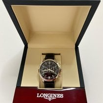 Longines Heritage Acier 42mm Noir Arabes France, PARIS