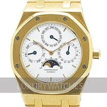 Audemars Piguet 25654BA Zuto zlato 1992 Royal Oak Perpetual Calendar 39mm rabljen