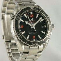 Omega Seamaster Planet Ocean Steel 39.5mm Black