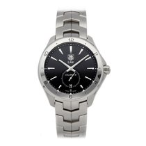 TAG Heuer Link Calibre 6 Steel 40mm Black No numerals United States of America, Pennsylvania, Bala Cynwyd