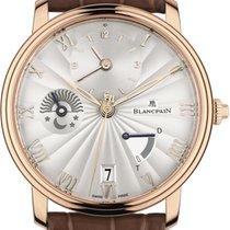 Blancpain Roségoud Automatisch Zilver 40mm nieuw Villeret Ultra-Slim