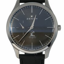 Zenith Elite Ultra Thin Steel 40mm Grey United States of America, New York, Lynbrook