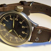 IWC Pilot IWC Schaffhausen NAV B-Uhr Cal. 52 Ref. 431 RLM Fliegeruhr 1940 rabljen