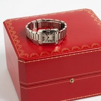 Cartier Tank Anglaise Stål 23mm Silver