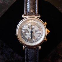 Jacques Lemans pre-owned Automatic 38mm Silver Mineral Glass 3 ATM