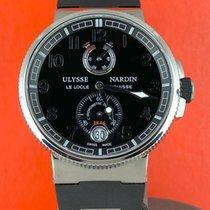 Ulysse Nardin Marine Chronometer Manufacture occasion 43mm Noir Caoutchouc