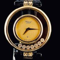 Chopard Happy Diamonds Or jaune 31mm Champagne Sans chiffres