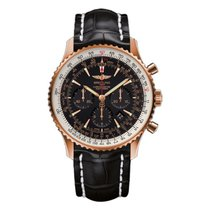 Breitling Navitimer 01 Or rose 46mm Noir