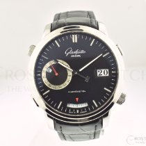Glashütte Original Senator Diary Steel 42mm Black No numerals United States of America, California, Beverly Hills
