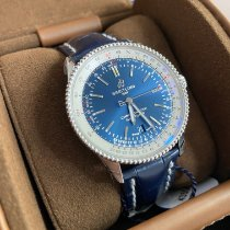 Breitling Navitimer Steel 41mm Blue