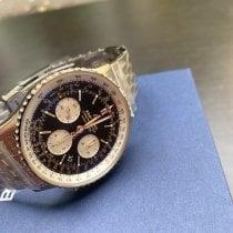 Breitling Acero Automático Negro Sin cifras 43mm nuevo Navitimer 1 B01 Chronograph 43