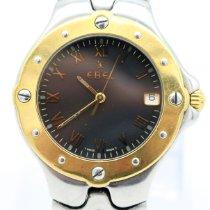 Ebel E 6187631 Золото/Cталь Sportwave 36mm подержанные