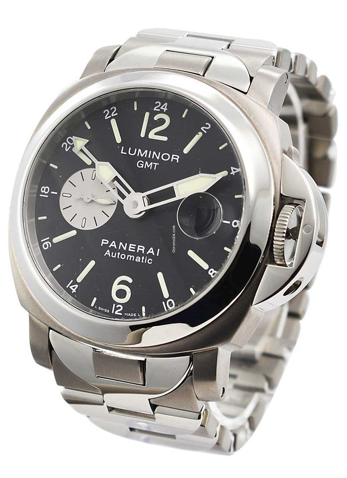 Panerai Luminor GMT Automatic PAM 00161 pre-owned
