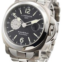Panerai Luminor GMT Automatic Titanium 44mm Black Arabic numerals
