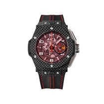 Hublot Big Bang Ferrari Carbon 45mm Transparent Arabic numerals United States of America, New Jersey, Oakhurst