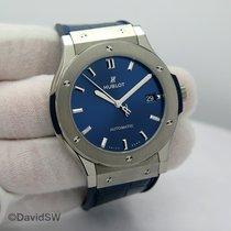 Hublot Classic Fusion Blue Titanium 45mm Blue No numerals United States of America, Florida, Orlando