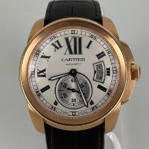 Cartier Calibre de Cartier Rose gold 42mm Silver Roman numerals United States of America, Florida, Jupiter