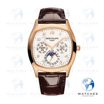 Patek Philippe Perpetual Calendar Rose gold 37mm Silver Arabic numerals United States of America, New York, New York