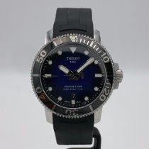 Tissot pre-owned Automatic 43mm Blue Sapphire crystal 30 ATM