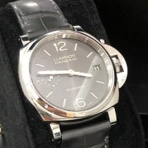 Panerai Luminor Due Acier 38mm Gris Arabes