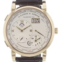 A. Lange & Söhne Lange 1 Rose gold 42mm Silver Roman numerals United States of America, California, Newport Beach