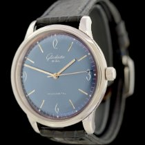 Glashütte Original Sixties Acier 39mm Bleu Arabes