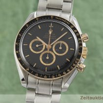 Omega Speedmaster Professional Moonwatch Guld/Stål 42mm Sort