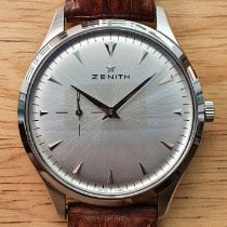 Zenith Elite Ultra Thin pre-owned Silver Leather
